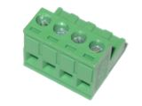"4pin 0.2"" / 5.08mm Pluggable Screw Right Angle Terminal Block (5mm)"