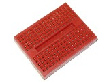 Mini Breadboard 170 Points 35x47mm Red w/ Self-Adhesive Tape