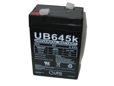 Seal Lead Acid (SLA) 6V 4.5Ah Rechargeable Battery