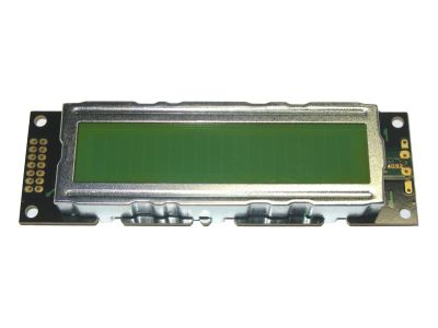Character LCD 20x2 Black Text Yellow-Green Backlight