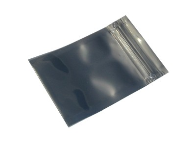 Zip Top 110mm x 70mm ESD Anti-Static Shielding Bag
