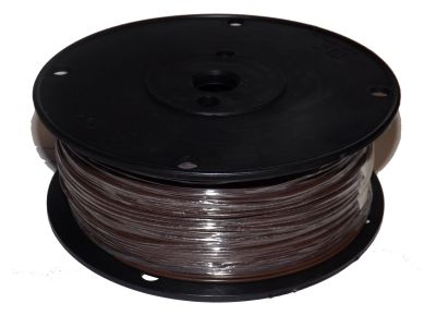 Hookup Wire UL1007 22 AWG 7 Strain Tinned Copper PVC Jacket Brown
