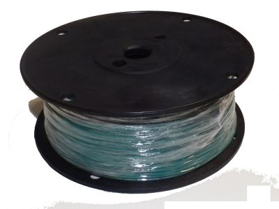 Hookup Wire UL1007 22 AWG 7 Strain Tinned Copper PVC Jacket Green