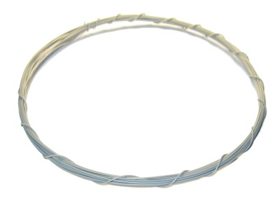 Wrapping Wire Tin Plated Copper AWG30 Grey 20ft